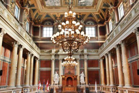 Grosser Festsaal der Universität Wien