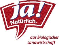 Logo Ja! Natürlich. aus biologischer Landwirtschaft