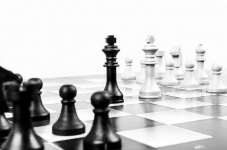 ein Schachspiel