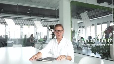 Johannes Braith, CEO Storebox Holding GmbH