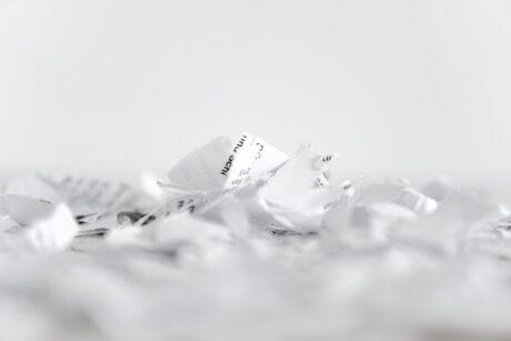 Papierschnipsel