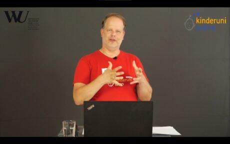 Screenshot Livestream der Lehrveranstaltung