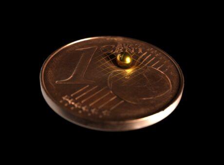 eine Centmünze